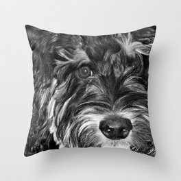 Scout... Throw Pillow