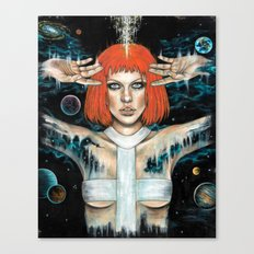Leeloo Dallas Canvas Print