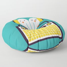Radio Mode Love Floor Pillow