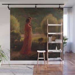 The Love of my Life (L'amore nella vita) by Giuseppe Pellizza da Volpedo Wall Mural
