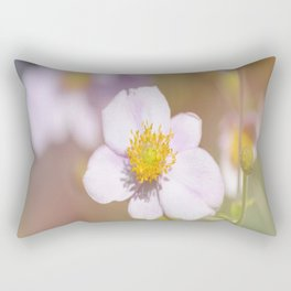 Anemone in the Garden Rectangular Pillow