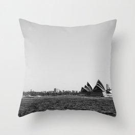 Monochromatic SOH Throw Pillow