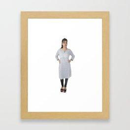 Casual Kurtis for Women Framed Art Print