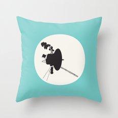 Voyager 1 Throw Pillow