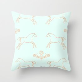 Stubbs pattern 2 Throw Pillow