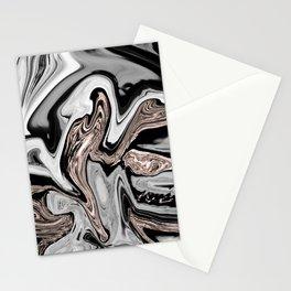 Fluid Kiss #2 #abstract #decor #art #society6 Stationery Cards