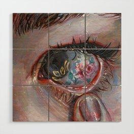 Beauty in The Eye Wood Wall Art