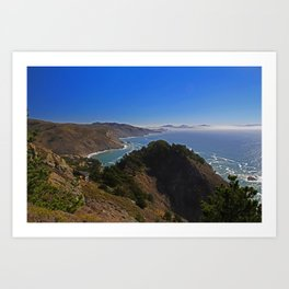 Muir Beach Overlook II Art Print