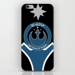 Blue Squadron (Resistance) iPhone Skin