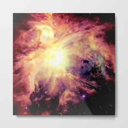 neBUla Colorful Warmth Metal Print