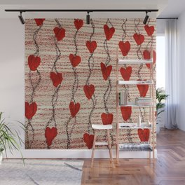 All My Hearts on Display Wall Mural