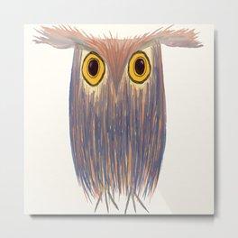 The Odd Owl Metal Print