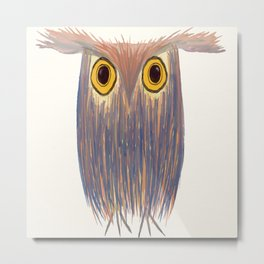 The Odd Owl Metal Print