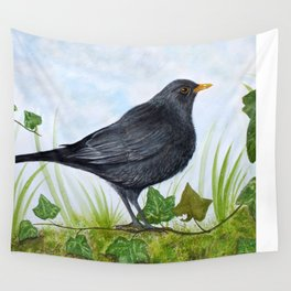 The Blackbird Wall Tapestry