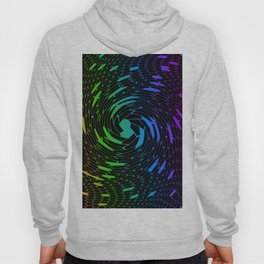 Colorful hexagon pattern Hoody