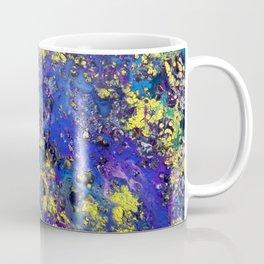 Purple with Yellow Rain Coffee Mug