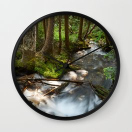 A River Runs Through It Wall Clock