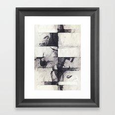 Made of Stone Framed Art Print