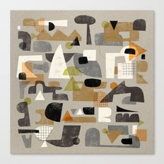 IMPERFECT SHAPES Canvas Print