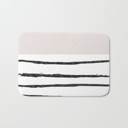 Mineral Taupe   Modern Watercolor Bath Mat