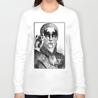 heavy metal Long Sleeve T-shirts featuring Heavy metal by DIVIDUS