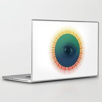 third eye Laptop & iPad Skins featuring Third Eye by ochre7