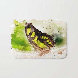 Friendly Butterfly Bath Mat