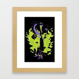 Maleficent Mistress of All Evil Framed Art Print