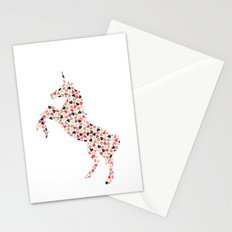 Multi Heart Unicorn Stationery Cards