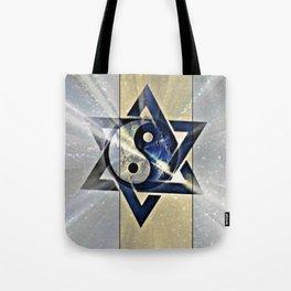 Jewish Yin Yang Tote Bag
