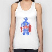steve rogers Tank Tops featuring Rogers Colour Bomb by Steve Paul Myers