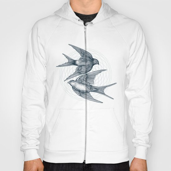 Two Swallows Hoody