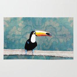 toucano tropical blue Rug