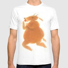 """""""Une chèvre mange..."""" Book cover T-shirt"""