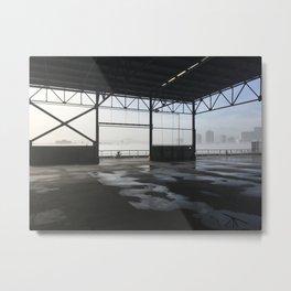 Old Warehouse - Mississippi Fog Series Metal Print