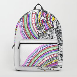 Ganesha Mandala Backpack