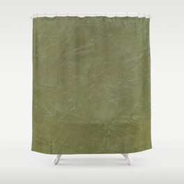 Italian Style Tuscan Olive Green Stucco - Luxury - Neutral Colors - Home Decor - Corbin Henry Shower Curtain