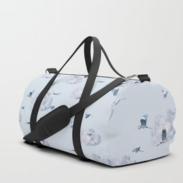 Blue Heron Skies Duffle Bag
