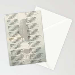 The Raven by Edgar Allan Poe Stationery Cards