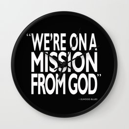 A Mission From God Wall Clock