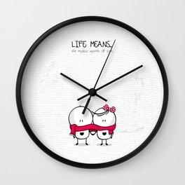 BigliMigli 01 Wall Clock