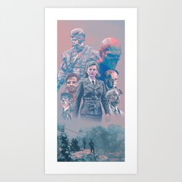 Cap America First Avenger Alternative Poster Art Print