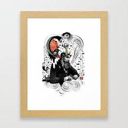 Creative Slavery Framed Art Print