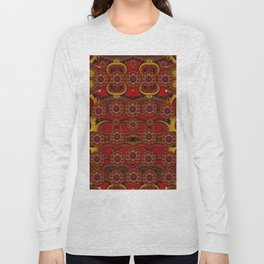 pumkins  in  gold and candles smiling Long Sleeve T-shirt