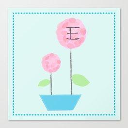 Flower E Canvas Print