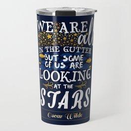 Stars (Oscar Wilde) Travel Mug