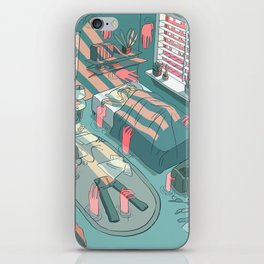 invading spaces iPhone Skin