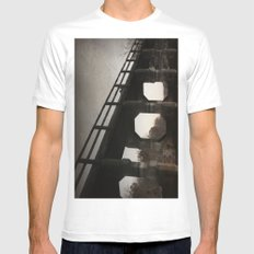 One last kiss MEDIUM Mens Fitted Tee White