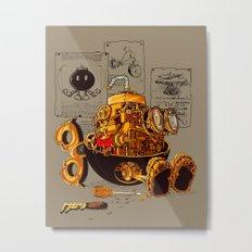 Work of the genius Metal Print