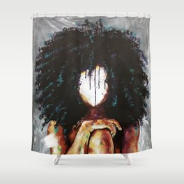 Naturally I Shower Curtain